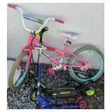 Girls Bicycle, Razor Power Core E90 Scooter