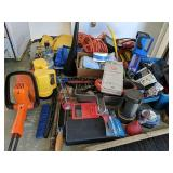 Assorted Tools. Wrenches, Flashlights, Work