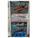 Pair Of Ultra Sunsation Pool Floats, Kool Tray