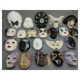 Showcase Lot. Collection Of Masks