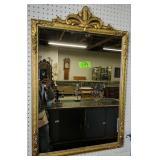 """Ornate Gold-framed Mirror 24.5x37"""""""