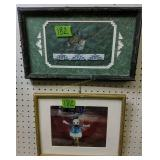 Cecky Ropeleski Beadwork Framed Bird Art, Donald