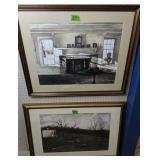 "Pair Of Wyeth Prints 35x28, 39x27"""