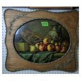 """Framed Fruit Still Life Print 26x22"""""""