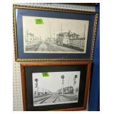2 Signed #d David Lekites Harrington De Railroad