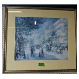 "Renoir ""the Great Boulevards"" Print 34x30"