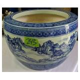 """16x11"""" Ceramic Oriental Planter"""