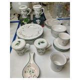 Pfaltzgraff Winterberry Plates, Cups Saucers Etc