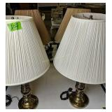 Two Pairs Of Table Lamps