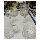 Waterford Crystal. Biscuit Jar, Bowl,