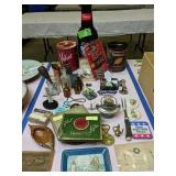 Tobacco Tins, Oyster Knife, Advertising Items,