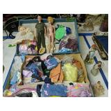 Suitcase With Dolls Clothes Willow Tree Etc