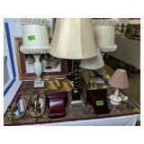 Decorative Lamps, Wall Shelves, Sconces, Area