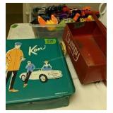 Dumpy Metal Cart, Toys, Ken Doll Case With