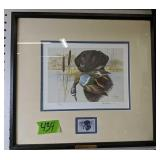 1991 Ducks Unlimited Pencil Signed Print With