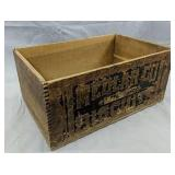 Medlar Co. Phila Pa Biscuits Wood Crate