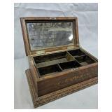 Oak Dresser Box