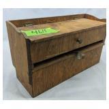 Wood Storage Organizer