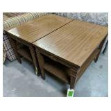 """Pair Of End Tables 30x18.5x21"""""""