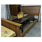 Queen Size Maple Mission Style Bed