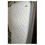 Pair Of Twin Size Mattresses With Hollywood Frames