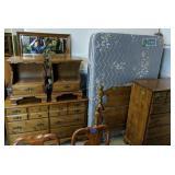 5 Pc Chautauqua Maple Bedroom Suite Full Size
