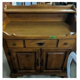 """Young Republic Maple Dry Sink 37x19x39"""""""