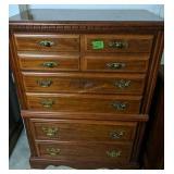 "Cherry Broyhill Dresser 34x18x47"""