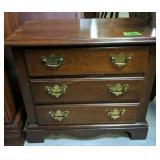 """Cherry Broyhill 3-drawer Nightstand 24x14x21"""""""