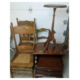 Parapressed Back Chairs, Cane Chair, Cherry End