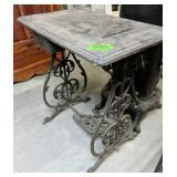 Cast Iron Sewing Machine Treadle Base