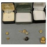 10k Gold Smithsonian Retirement Pin, Service P
