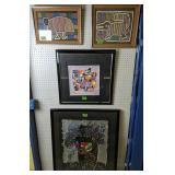 4 Framed Art. H Krasmansky, Orlando