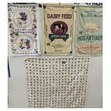 Decorative Towels. Pennsylvania Dutch, Adkins