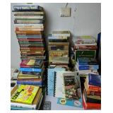 Books. Collector Books, Novels, Cookbooks Etc