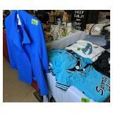Alley Cats Sports Uniforms, Ladies Blue Jacket