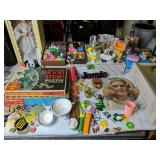 Doll Furniture, Buttons, Great Artist Magazines