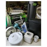 Ionic Pro Turbo Air Cleaner, Food Saver, Hair