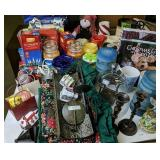Candles, Christmas Lights, Decor Items Etc