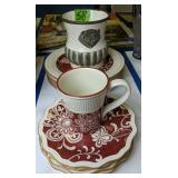 Pier 1 Imports Maribeth Plates, Mug, Southern