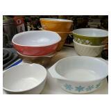 Pyrex Mixing Bowls, Corningware