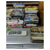 Dvd/vhs Player, Dvds, Vhs Movies Etc
