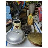 Country Decor. Aluminum Cookware, Decorative