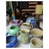 Robinson Ran Bottom Stoneware Bowls, Pictures,