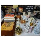 Art Glass Vase, John H Brand Furniture W