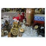 Sp Tea Set, Decorative Vases, Candle Holders,