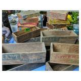 Kraft Cheese Boxes, Tower Brand Cheese Box, C