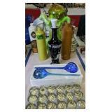 Stoneware Bottles, Decorative Vase, Crystal Ball