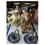Oriental Figurine, Jerry Brown Hamilton Pottery