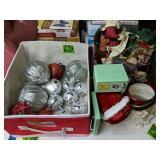 Christmas Decorations, Santa On Sleigh, Dear